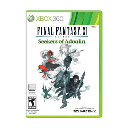 Jogo Final Fantasy XI Online: Seekers of Adoulin - Xbox 360