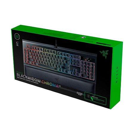 Teclado Mecânico Gamer Razer Blackwidow Chroma V2 - PC e Mac