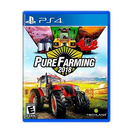 Jogo Pure Farming 2018 - PS4