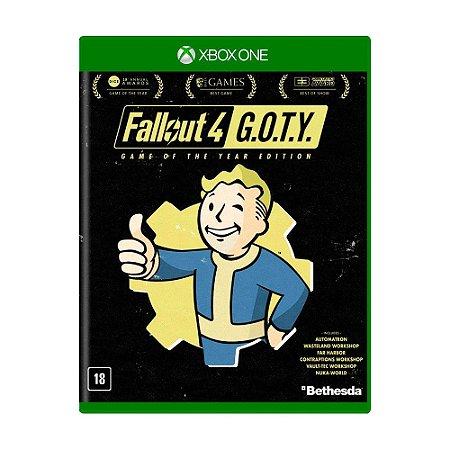 Jogo Fallout 4 (G.O.T.Y) - Xbox One