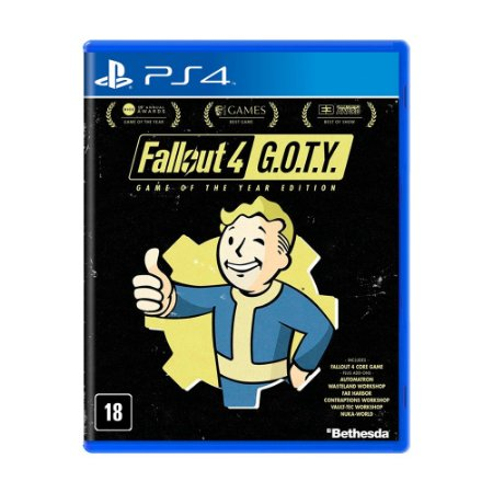 Jogo Fallout 4 (G.O.T.Y) - PS4