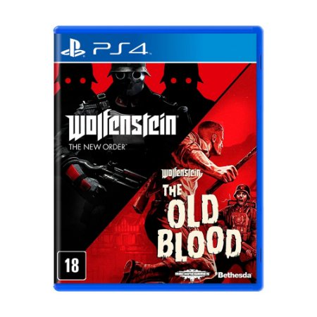 Jogo Wolfenstein: The Two Pack - PS4