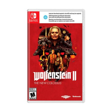 Jogo Wolfenstein II: The New Colossus - Switch