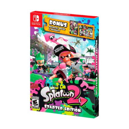 Jogo Splatoon 2 (Starter Edition) - Switch