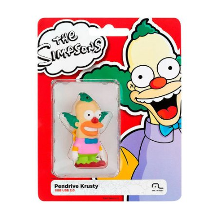 Pen Drive Multilaser The Simpsons: Krusty 8GB – PC e Mac