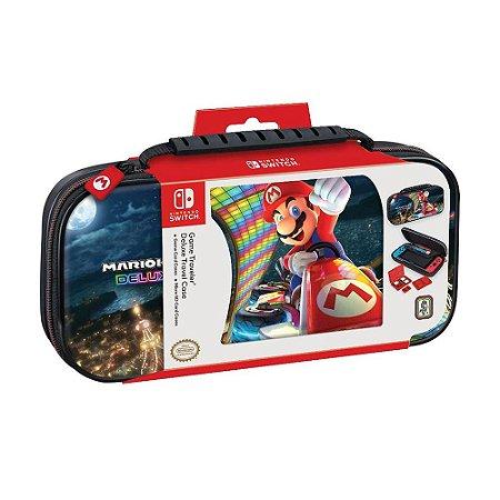Case Protetora Deluxe para Viagem RDS Industries (Mario Kart 8 Deluxe) - Switch
