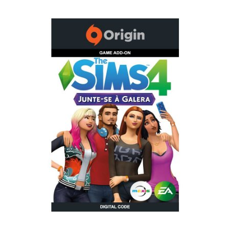 Jogo The Sims 4: Junte-se à Galera (Pacote de Expansão) (Mídia Digital) - PC