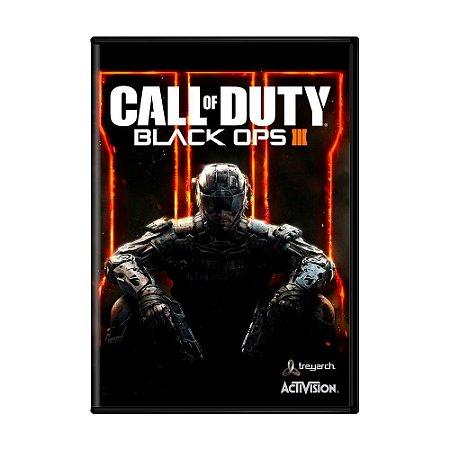 Jogo Call of Duty: Black Ops III - COD BO3 (Mídia digital) - PC
