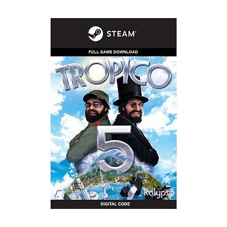 Jogo Tropico 5 - (Mídia Digital) - PC