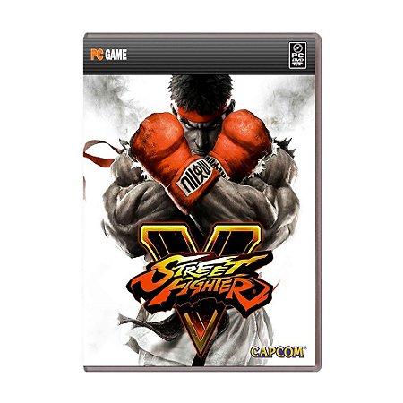 Jogo Street Fighter V (Mídia digital) - PC