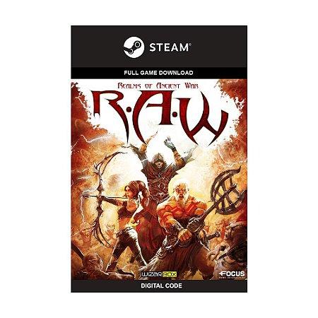 Jogo R.A.W: Realms of Ancient War (Mídia Digital) - PC