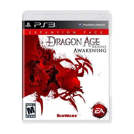 Jogo Dragon Age: Origins – Awakening (Expansion Pack) - PS3