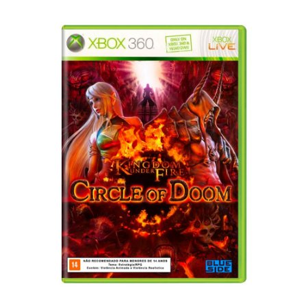 Jogo Kingdom Under Fire: Circle of Doom - Xbox 360
