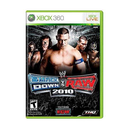 Jogo WWE SmackDown Vs. Raw 2010 - Xbox 360