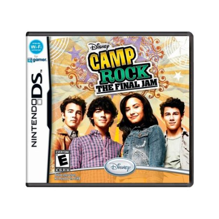 Jogo Disney Camp Rock: The Final Jam - DS