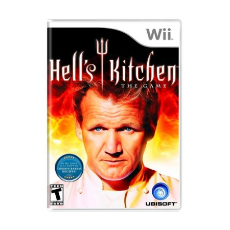 Jogo Hell's Kitchen: The Game - Wii