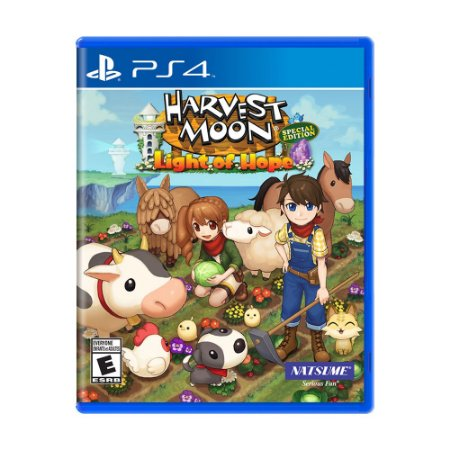 Jogo Harvest Moon: Light of Hope (Special Edition) - PS4
