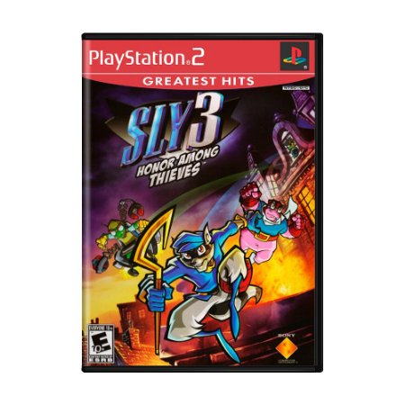 Jogo Sly 3: Honor Among Thieves - PS2