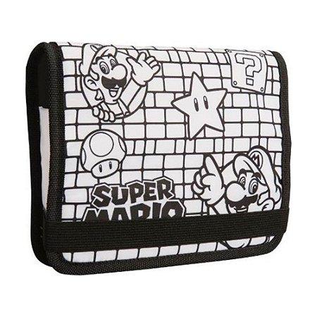 Case Protetora ColorCraft para Colorir PowerA (Super Mario) - 3DS