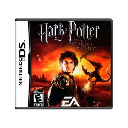 Jogo Harry Potter and the Goblet of Fire - DS