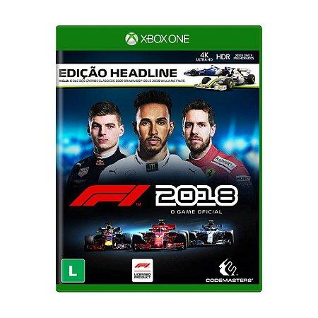 Jogo F1 2018 (Edição Headline) - Xbox One