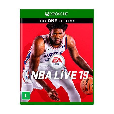Jogo NBA Live 19 (Edição The One) - Xbox One