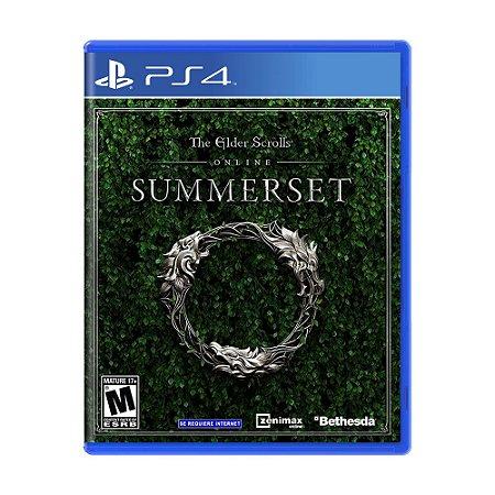 Jogo The Elder Scrolls Online: Summerset - PS4