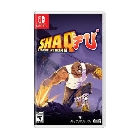 Jogo Shaq Fu A Legend Reborn - Switch