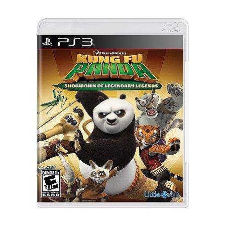 Jogo Kung Fu Panda: Showdown of Legendary Legend - PS3