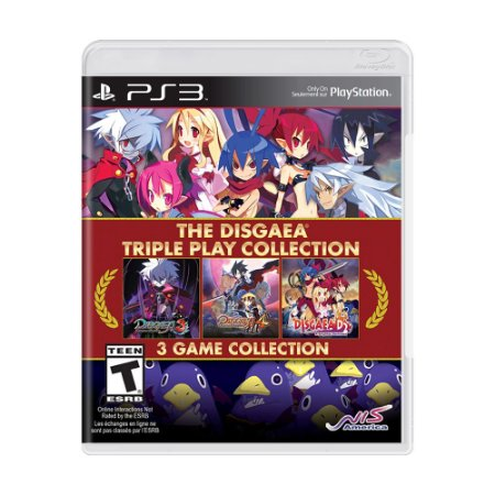 Jogo The Disgaea Triple Play Collection - PS3