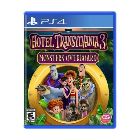 Jogo Hotel Transylvania 3: Monsters Overboard - PS4