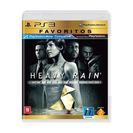 Jogo Heavy Rain (Director's Cut) - PS3