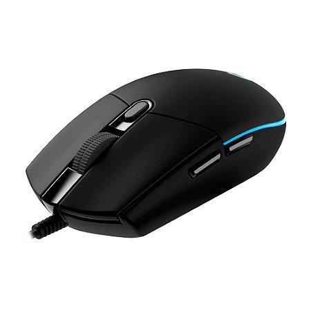 Mouse Logitech G203 Prodigy 6000dpi Preto com fio