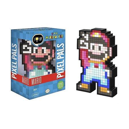 Luminária Pixel Pals Mario 020 Super Mario World - PDP