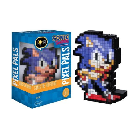 Luminária Pixel Pals Sonic the Hedgehog 040 Sonic the Hedgehog (Collector's Edition) - PDP