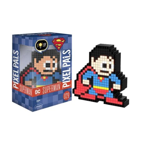 Luminária Pixel Pals Superman 029 DC - PDP