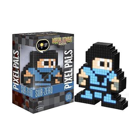 Luminária Pixel Pals Sub-Zero 045 Mortal Kombat Klassic - PDP