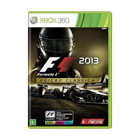 Jogo F1 2013 (Edição Clássica) - Xbox 360