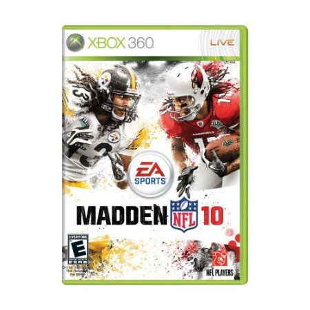 Jogo Madden NFL 10 - Xbox 360
