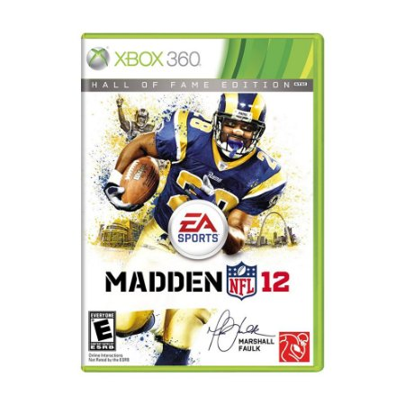 Madden NFL 12 (Hall of Fame Edition) - Xbox 360 - ShopB - 9 anos! 8e75205c2de0b