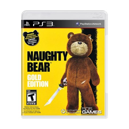 Jogo Naughty Bear (Gold Edition) - PS3