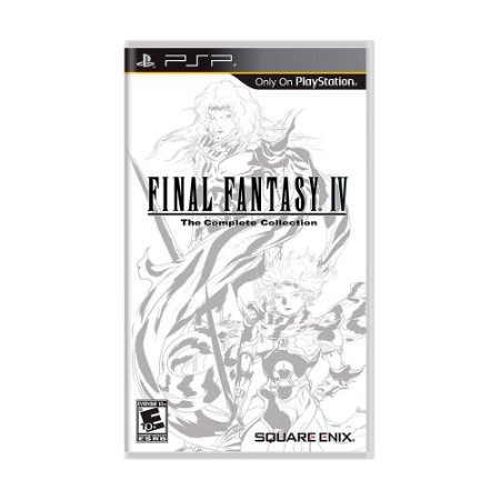 Jogo Final Fantasy IV: The Complete Collection - PSP