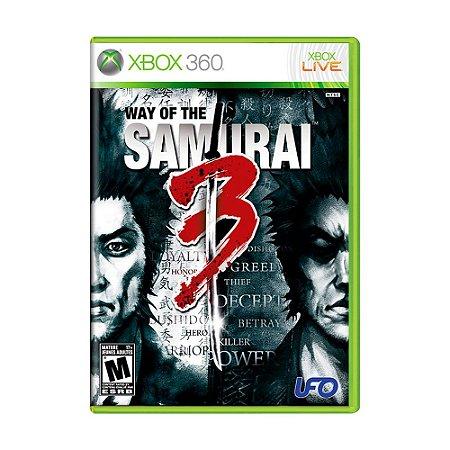 Jogo Way of the Samurai 3 - Xbox 360