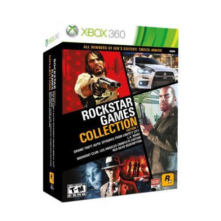 Jogo Rockstar Games Collection (Edition 1) - Xbox 360