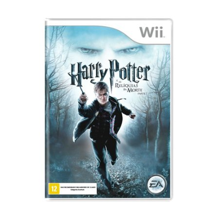 Jogo Harry Potter e as Relíquias da Morte: Parte 1 - Wii