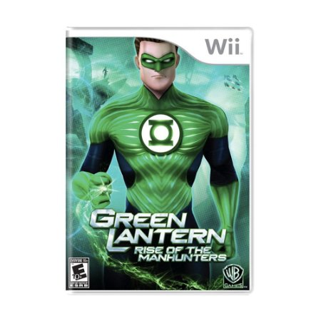 Jogo Green Lantern: Rise of the Manhunters - Wii