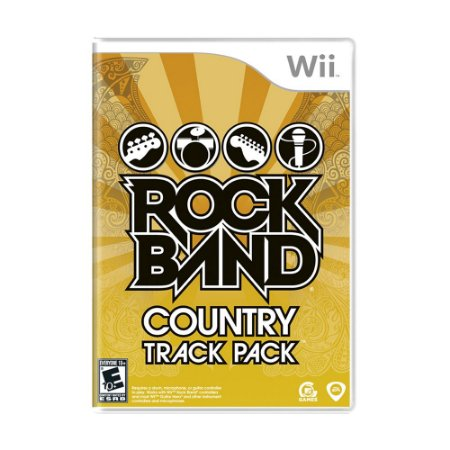Jogo Rock Band: Country Track Pack - Wii