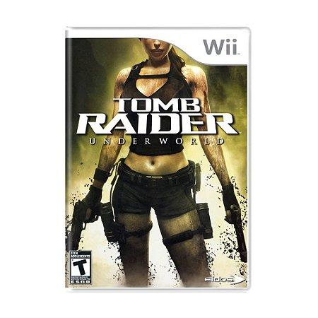 Jogo Tomb Raider: Underworld - Wii