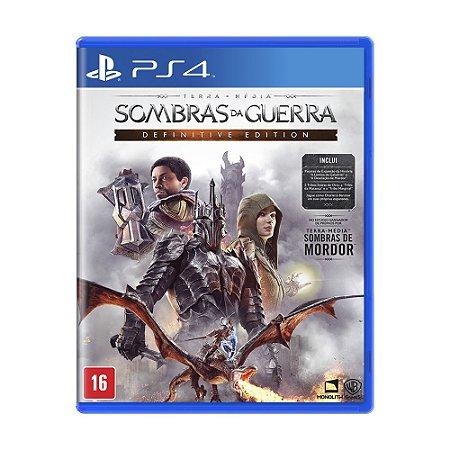 Jogo Terra-média: Sombras da Guerra Definitive Edition - PS4