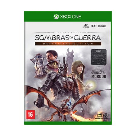 Jogo Terra-média: Sombras da Guerra Definitive Edition - Xbox One